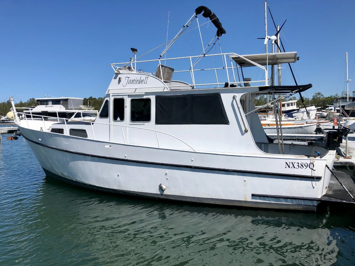 Bay Cruiser 35 Alloy Flybridge