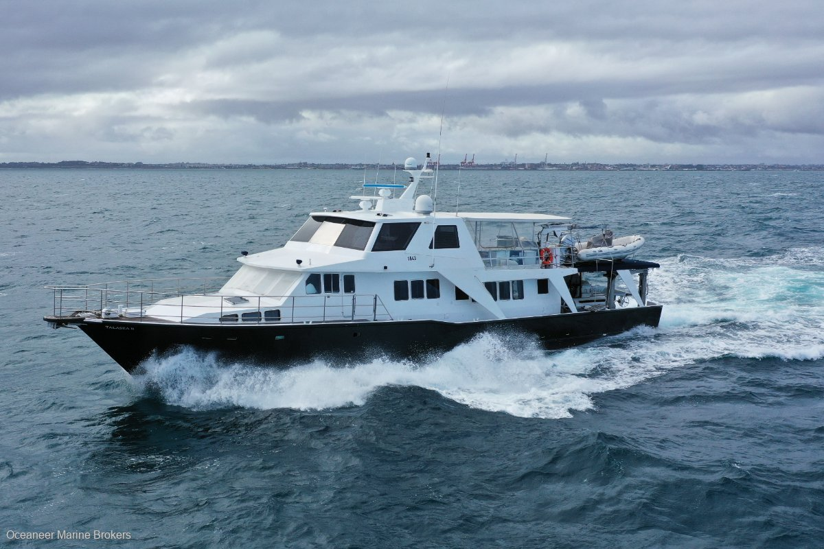 McAlpine MMD Expedition Motor Yacht with Submersible Submarine