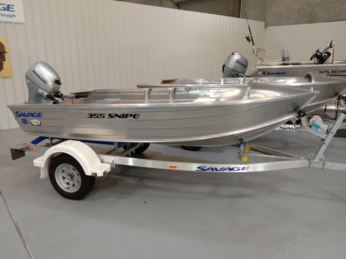 Savage 355 Snipe dinghy package