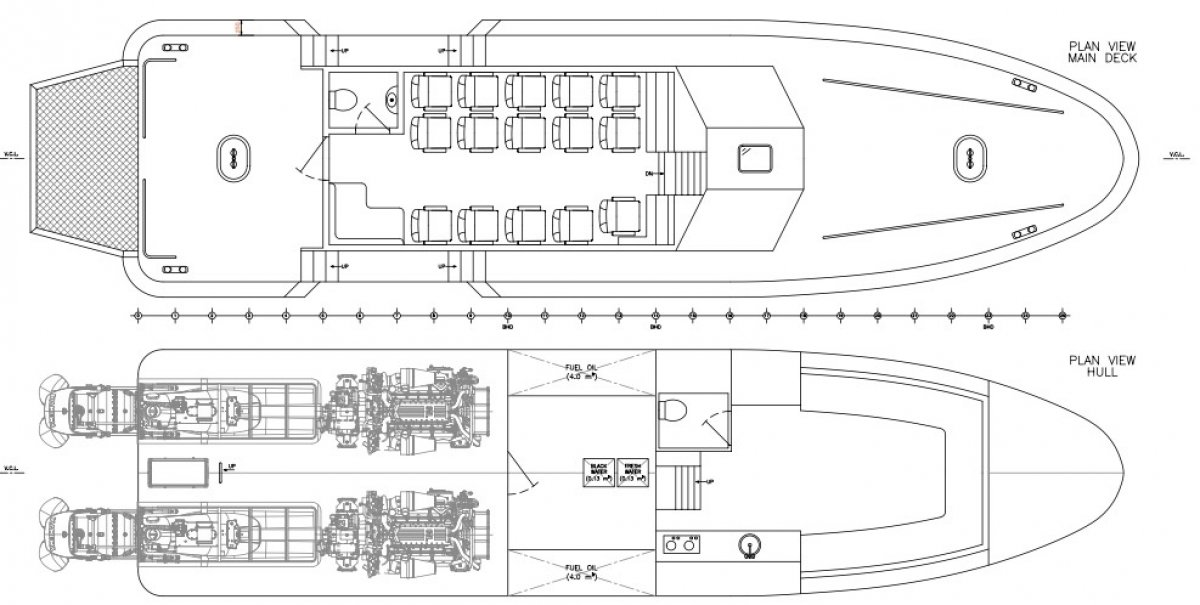 18m Pilot, SAR & Patrol Boat
