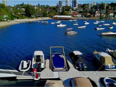 8m Double Bay Marina Berth - For Sale