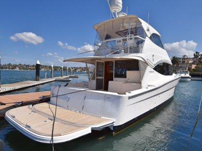 Maritimo 470 Offshore Convertible Get in Quick - This 2011 model is a must view