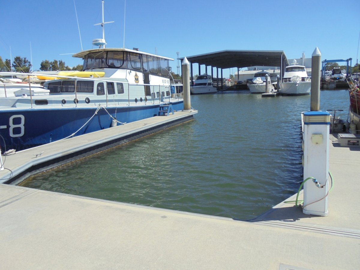15m MARINA BERTH (P31) AT HOPE HARBOUR MARINA