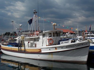 "Holmes 63' Historic Wooden Vessel ""Southern Cross Stars"""