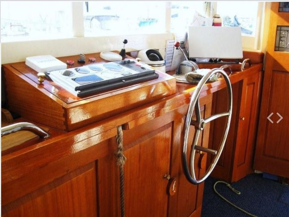 """Holmes 63' Historic Wooden Vessel """"Southern Cross Stars"""""""