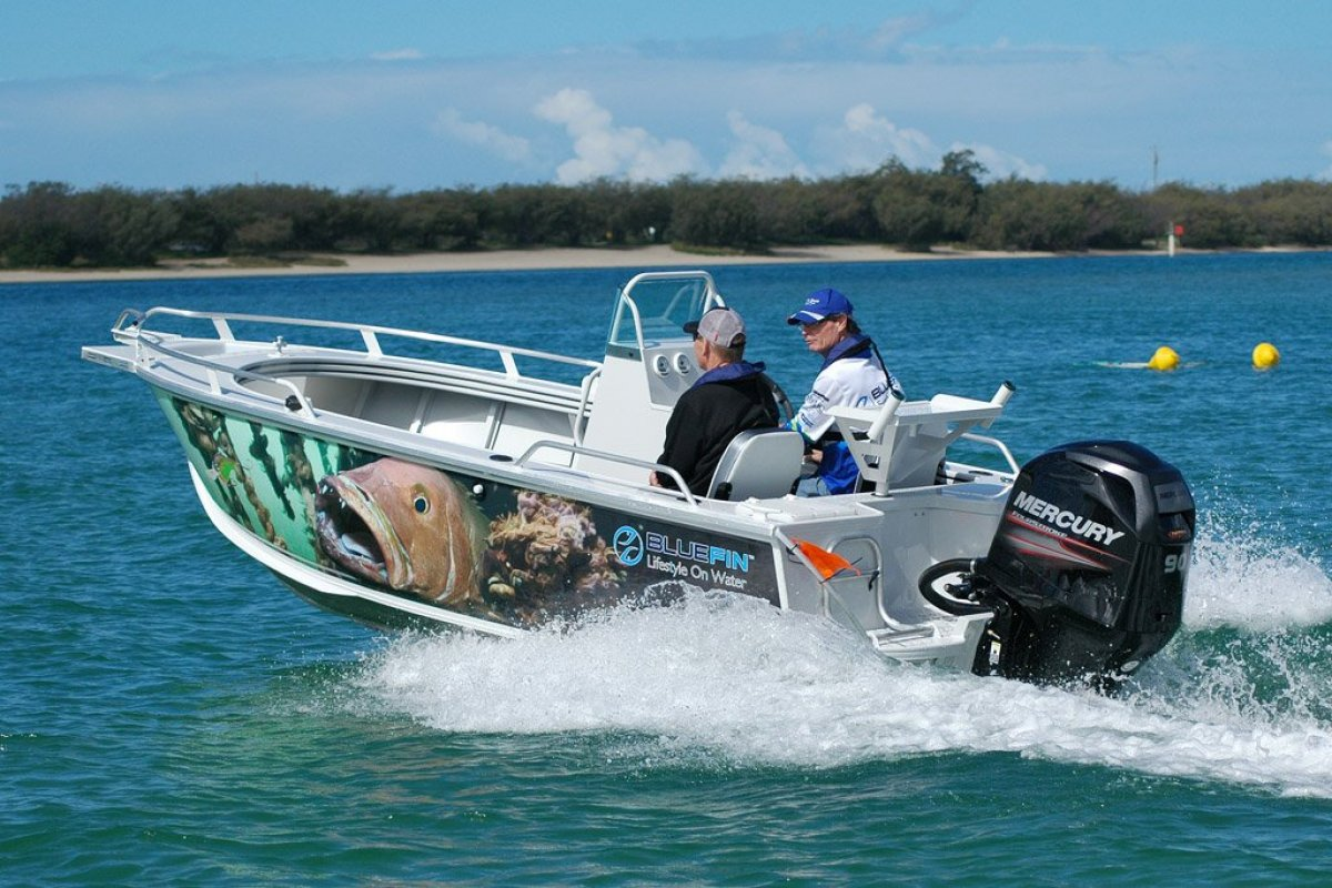 New Bluefin 5.00 Barracuda