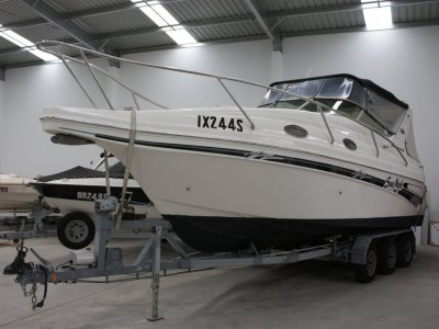 Venom 2800 Sports Cruiser On tri axle trailer Huge Price Reduction