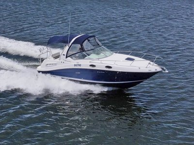Sea Ray 260 DA **** Less than 100 hours on the engine ****