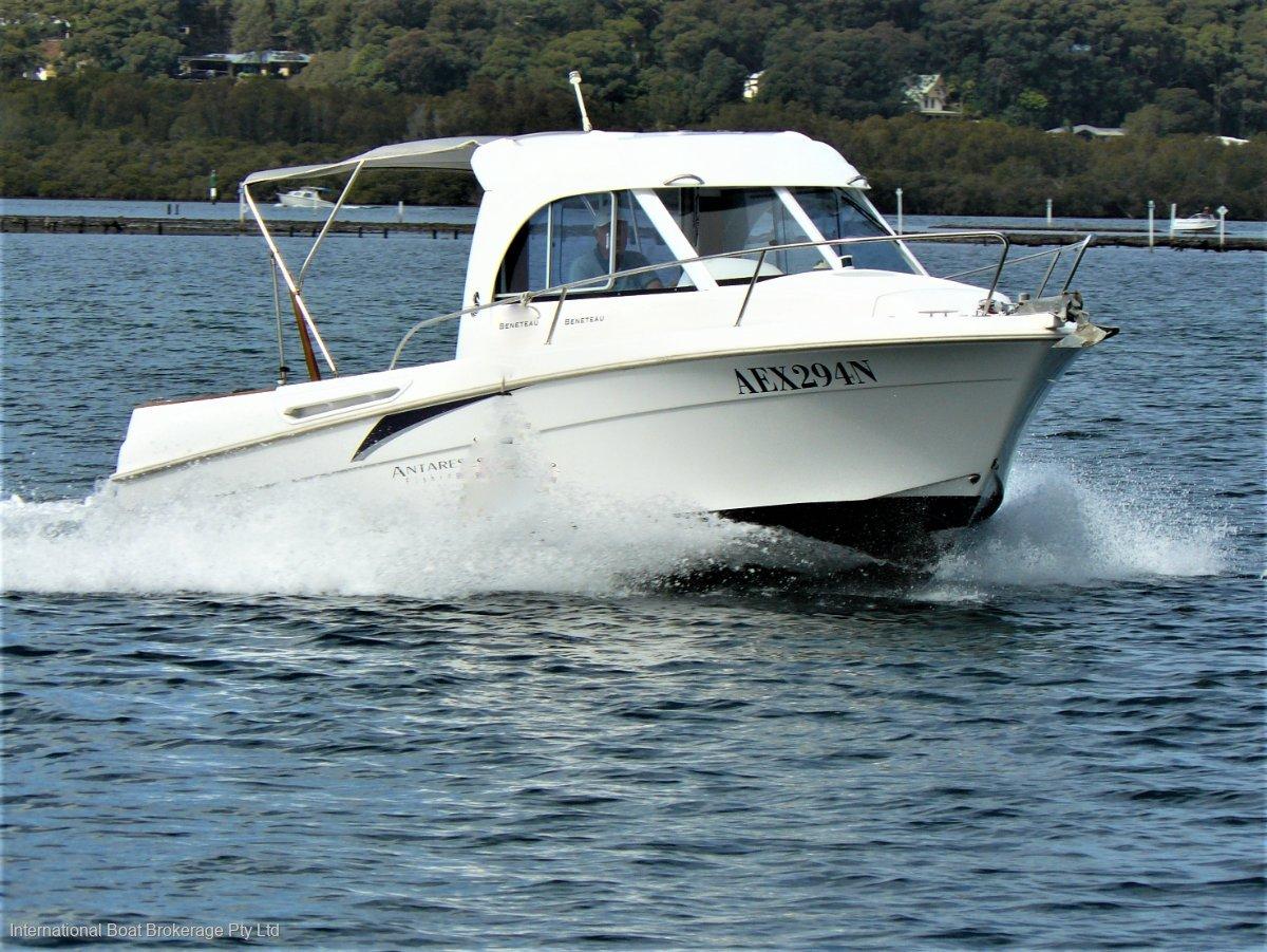 Beneteau Antares 6 Fishing Arvor 20 and 215 buyers see Beneteau Antares 6