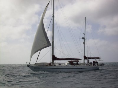 Bruce Roberts 53 Masthead Cutter Ketch- Click for more info...