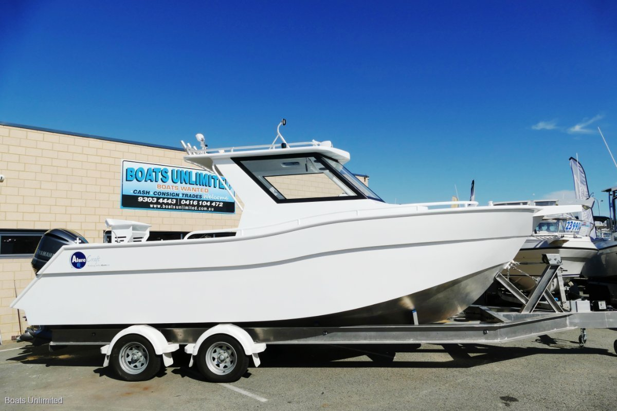 Alure Craft 760 Walkaround Plate Hardtop 2020 PLATE ALLOY SOLD.. ANOTHER AVAIL NOW..