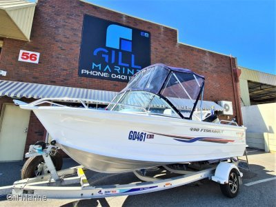Quintrex 490 Fishabout 2016 EXTREMEMLY LOW HOURS DO NOT MISS THIS BARGAIN
