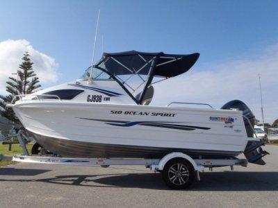 Quintrex 510 Ocean Spirit Aluminium, suit Stacer, Savage, Stessco, Trailcraft