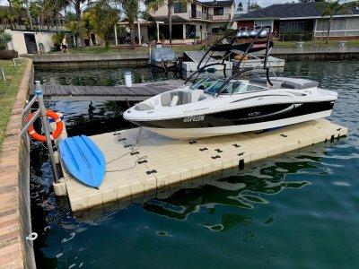 EzyDock Ez Boat Port (Boat not Included)