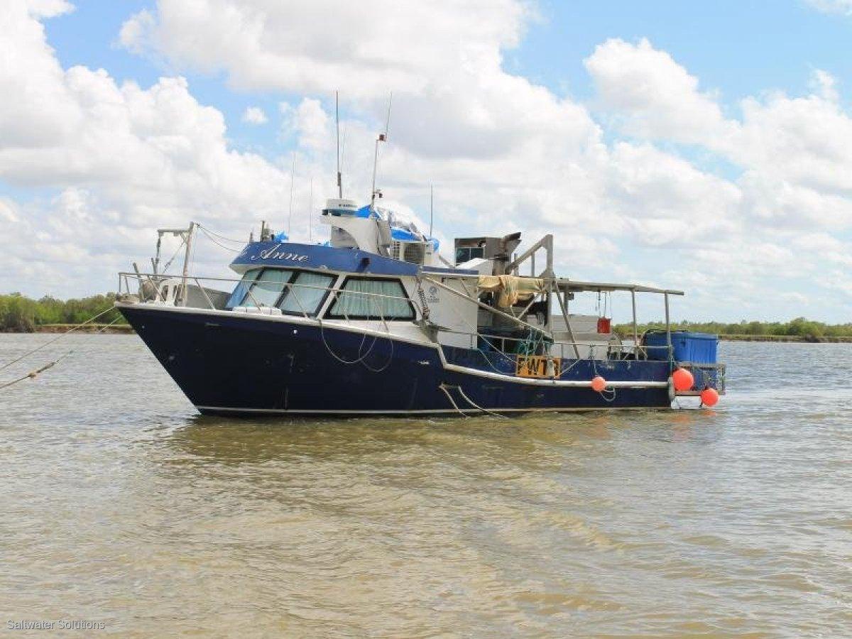 Aluminium commercial inshore offshore fishing