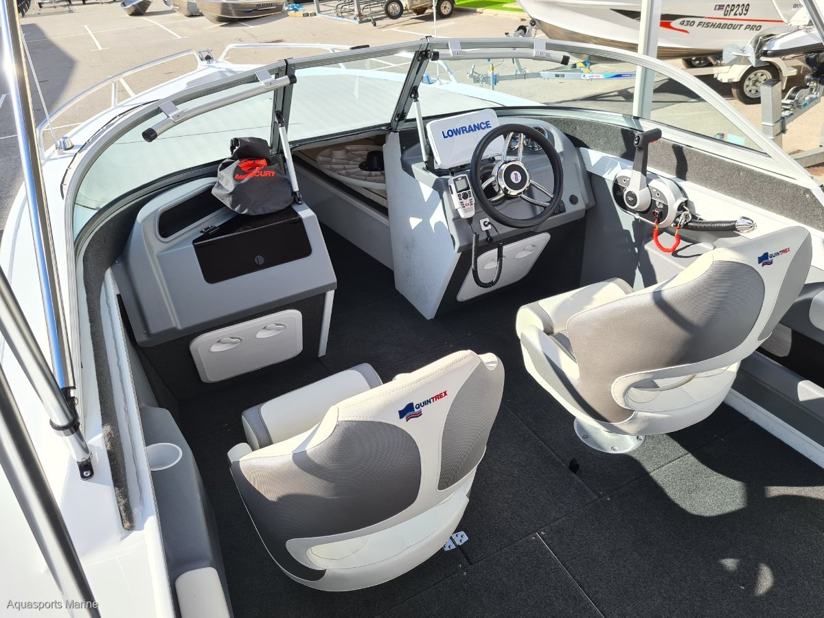 New Quintrex 590 Cruiseabout XLS Bow Rider