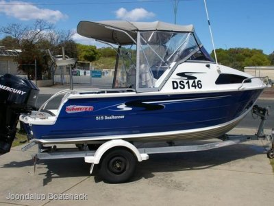 Stacer 519 Sea Runner 115hp Mercury 4 stroke