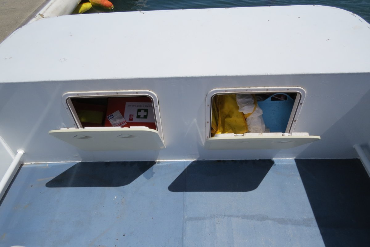 Sabrecraft Marine Work Punt