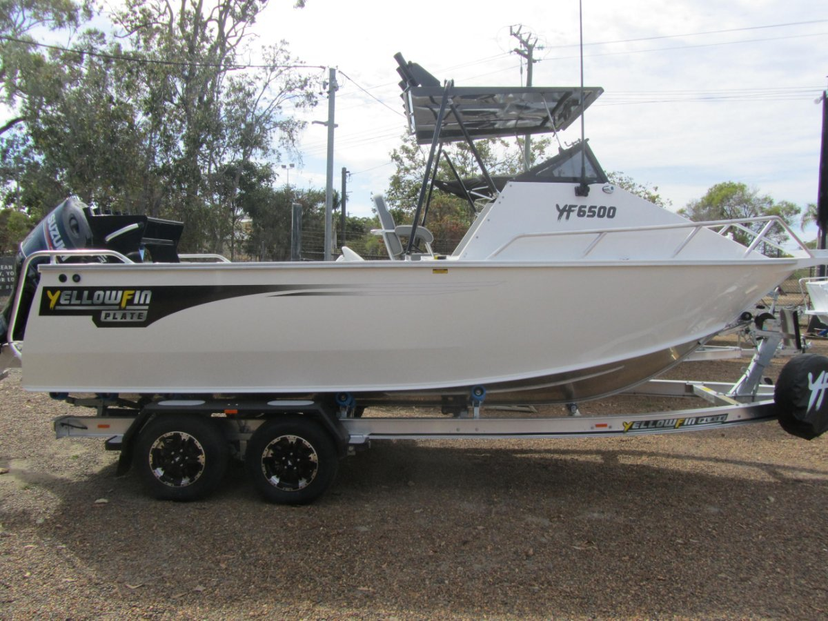 Yellowfin Plate 6500 Folding Hard Top Cuddy Cabin