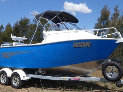 Plate Alloy Australia 5.3 Runabout