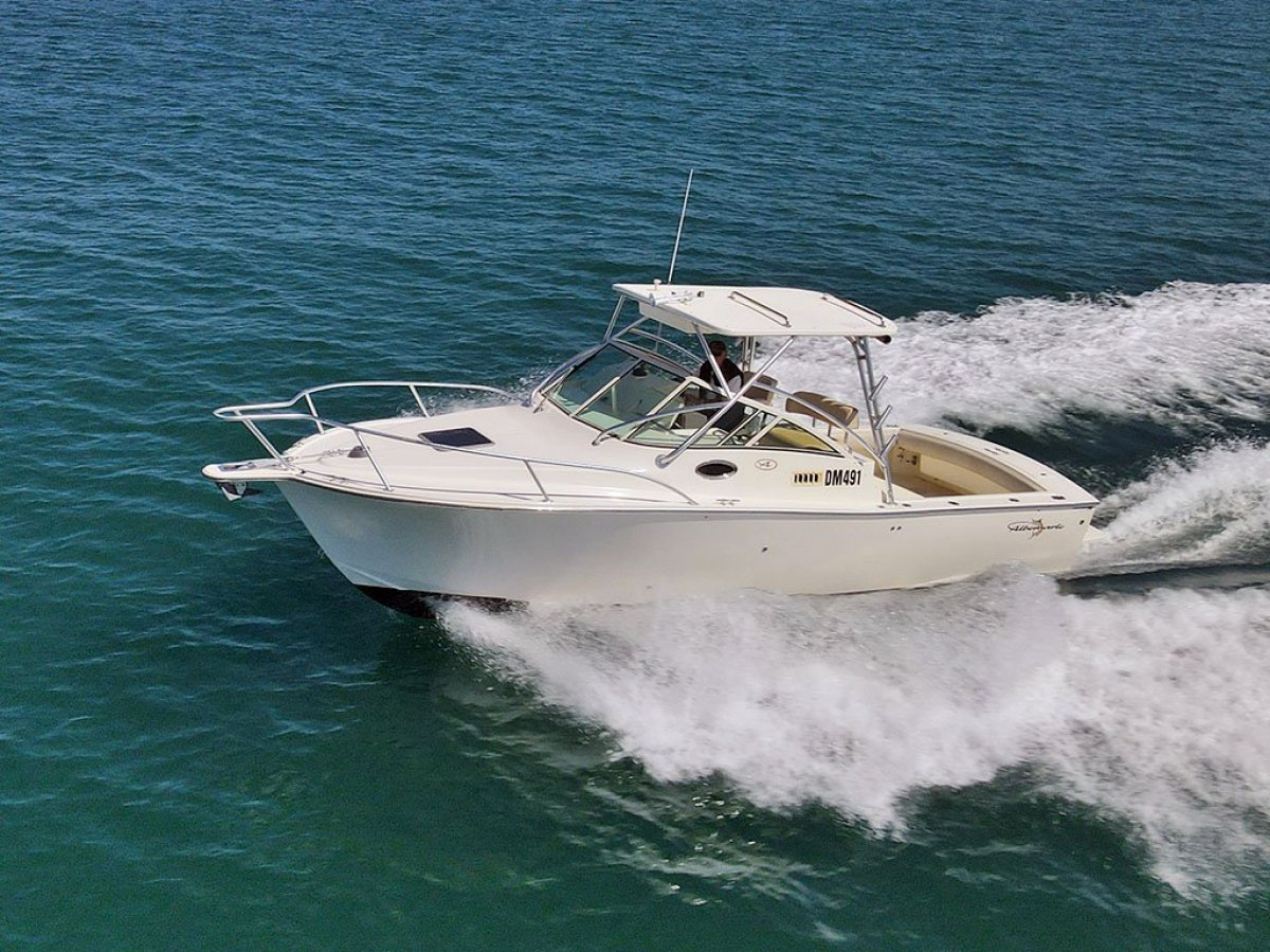 Albemarle 280XF *** Fishing, Diving or Surfing daytripper ***