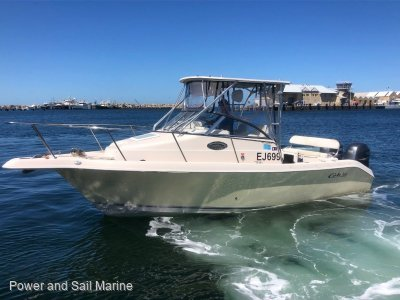 Cobia 250 Walk Around With an in rego trailer!