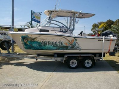 Grady-White Adventure 208 Hadr top and Yamaha 225hp Four stroke