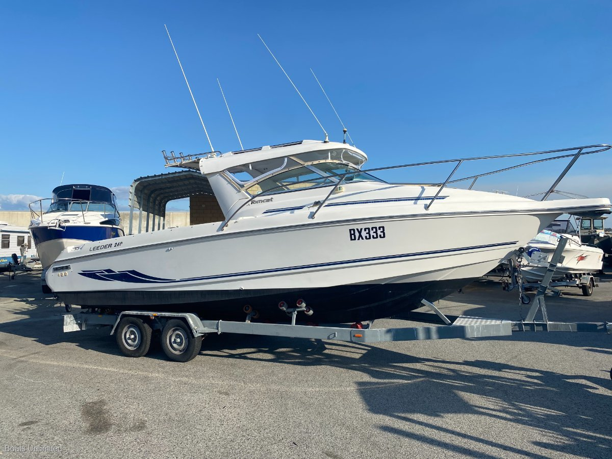 Leeder Tomcat 240 EXCELLENT OFFSHORE FISHING BOAT GREAT DECK SPACE:Quality boats wanted!  Let me sell yours here today! Cash, Consign or Trade 9303 4443.