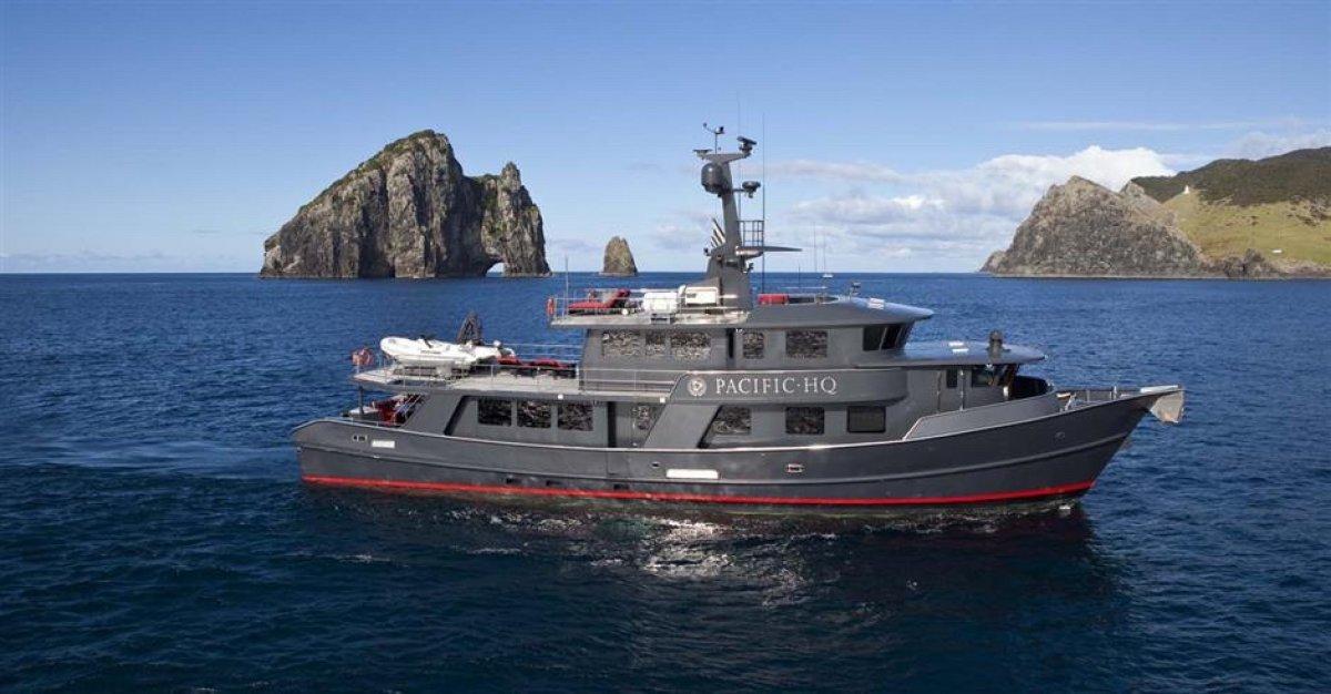 Custom 29m Luxury Long-range Explorer Motoryacht