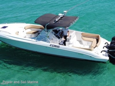 Al Dhaen 380SF Wavebreaker Triple 300hp Verado with extensive vessel history!