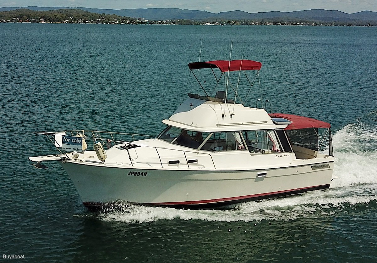 Bayliner 34 Flybridge