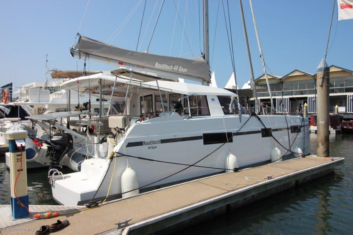 Nautitech 40 Open Catamaran boat share