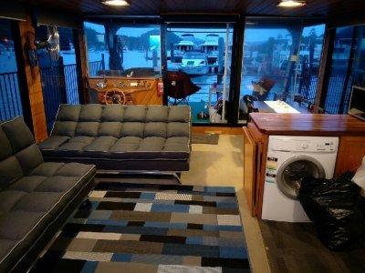Custom house boat For Sale Open Tender From $1.00