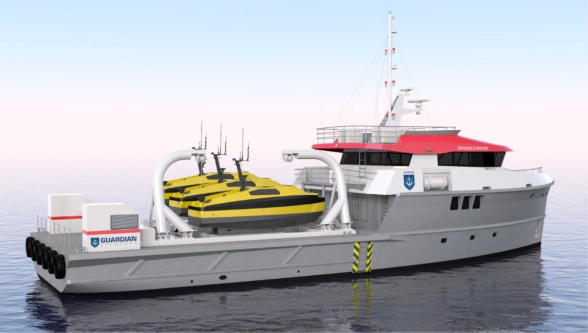 34m Hydrographic Survey Vessel for Charter