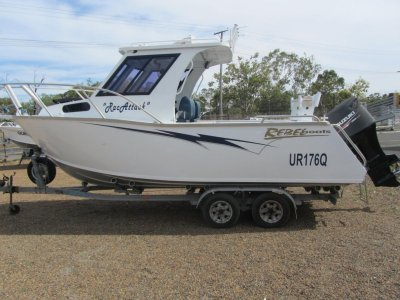 Rebel 6500 Hardtop Plate Boat