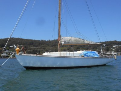 Blythe Spirit Classic Yacht Diesel Australian Sailing History for Sale !