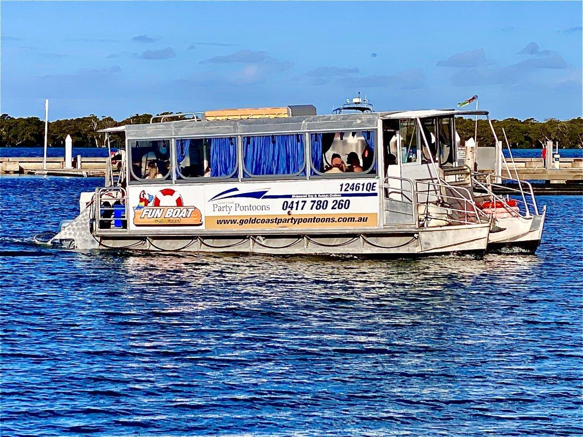 Aluminium Party Pontoon Boat