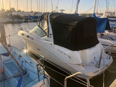 Sea Ray 275 Sundancer New clears this week and a perfect day boat