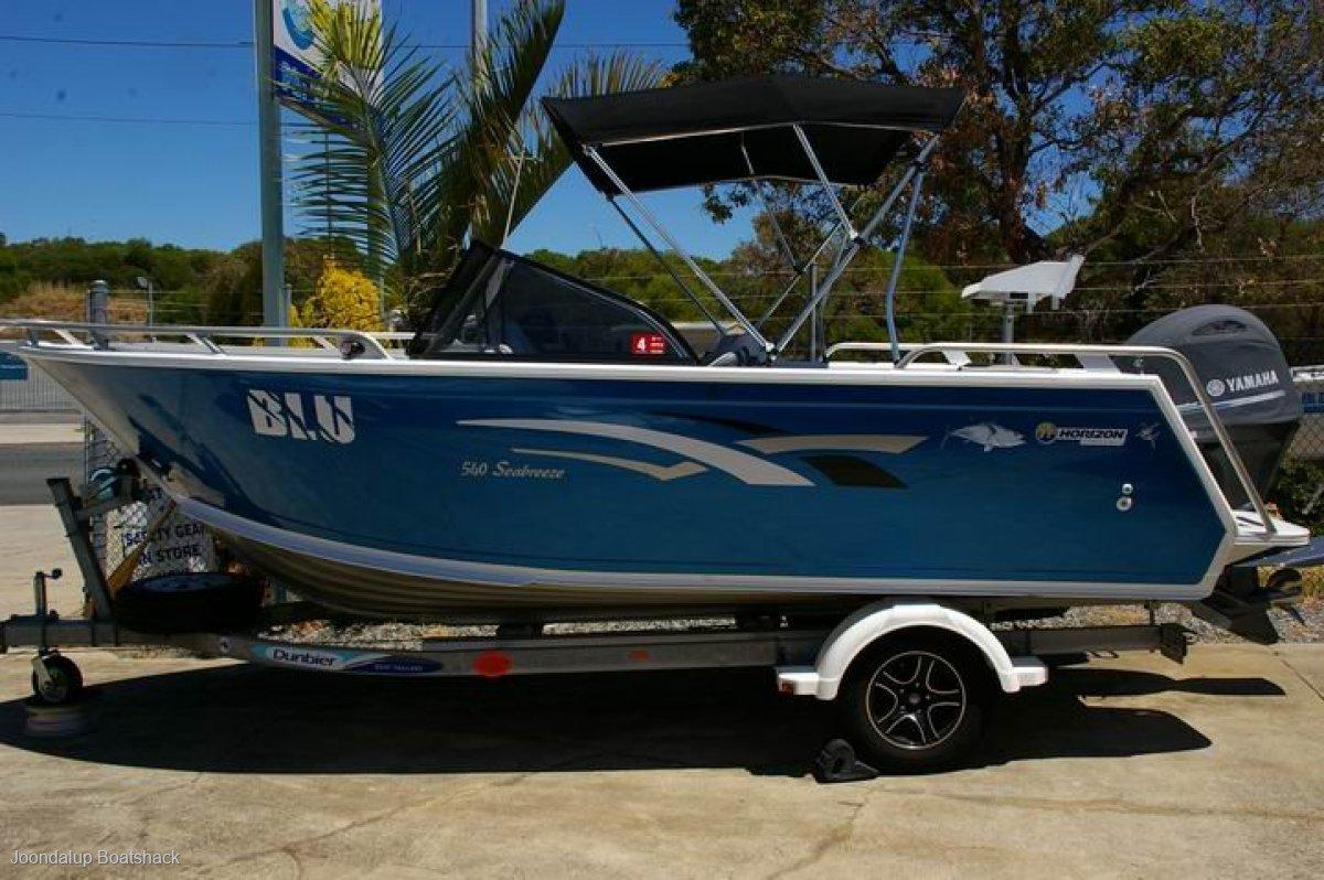 Horizon Aluminium Boats 540 SeaBreeze 2016 bowrider Yamaha 115hp Four stroke