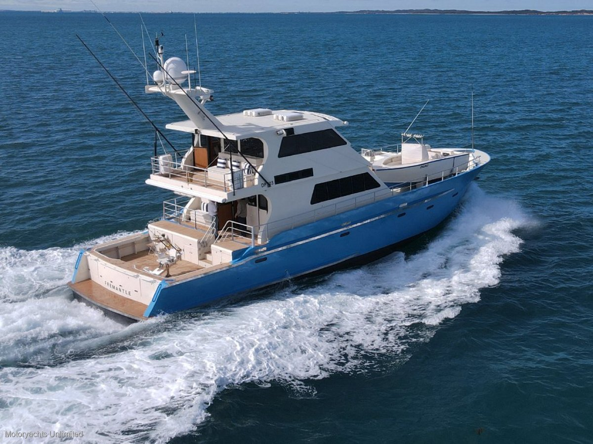 Gordon Blaauw Design 24.0 *** Kimberley ready - Long range explorer ***:Gordon Blaauw 24m Passagemaker
