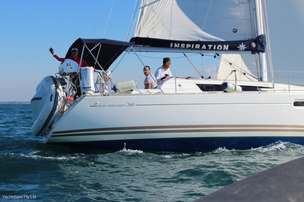 Jeanneau Sun Odyssey 36i Yachtshare