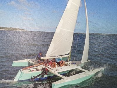 Jim Brown 6m Sailing Trimaran for sale