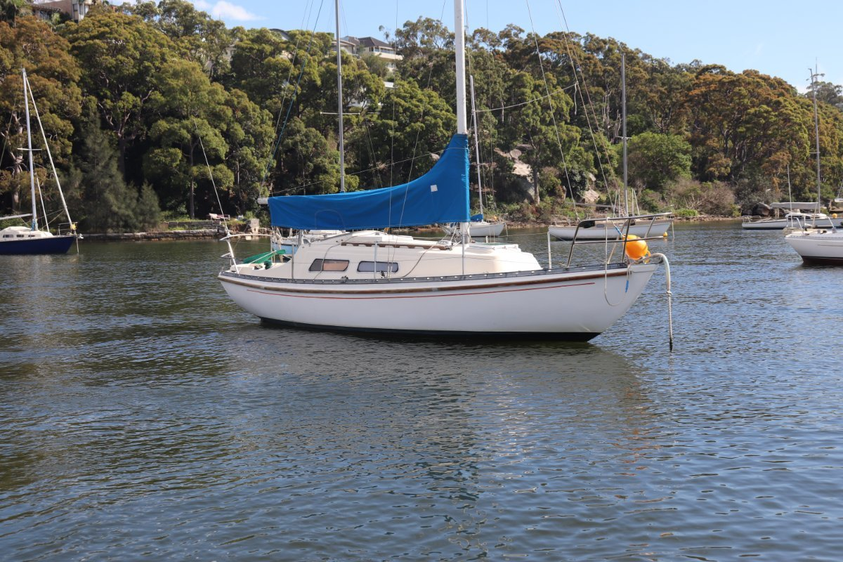 Folkboat Marieholm 26 With Full Headroom Cockpit