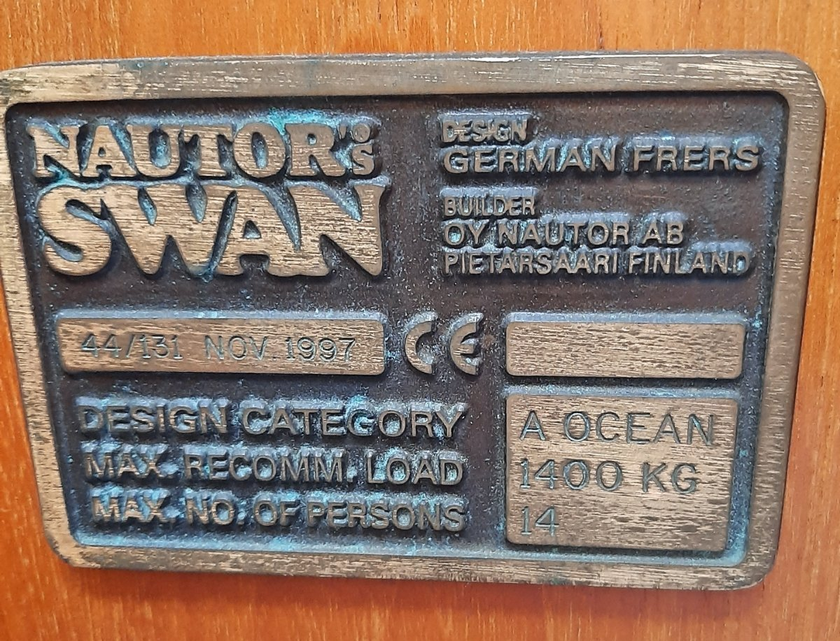 Nautor Swan 44 Mark II