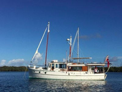 Norman Wright Bridgedeck Cruiser 1958 - Fully Restored Call Andrew (07) 5580 3377