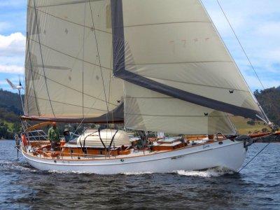 Ed Burnett Classic Timber Yacht Design #135