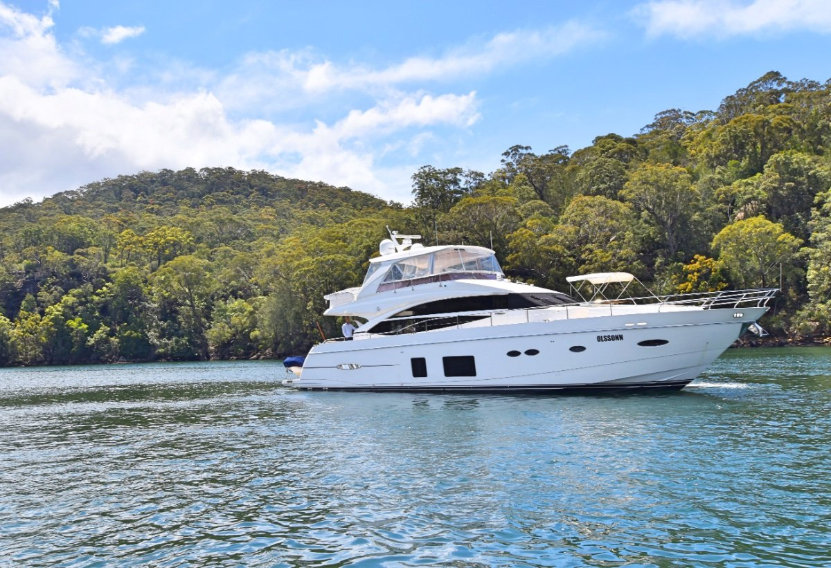 Princess 72 Motor Yacht Immaculate 72 Princess Turn Key Ready
