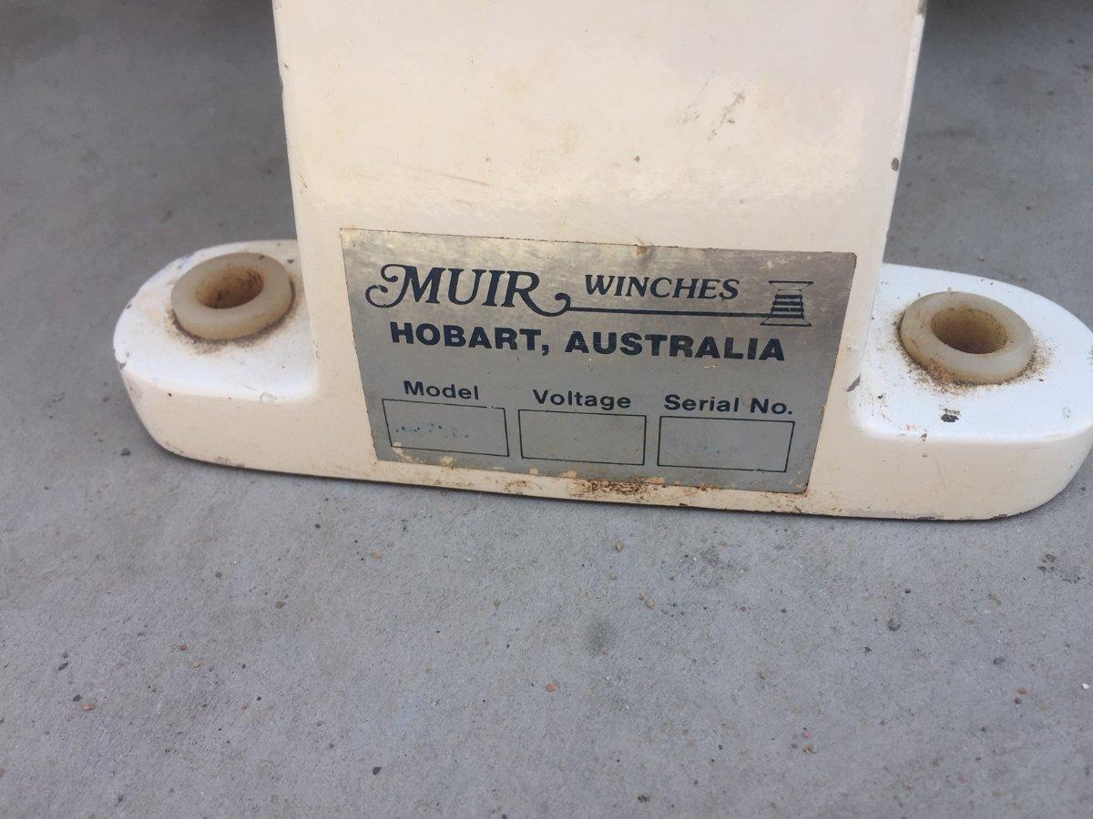 Muir Neptune Winch