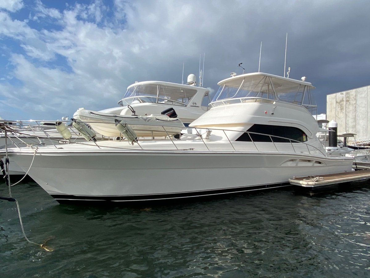 Riviera 51 Flybridge MTU 825hp Shaft Drive:RIVIERA 51 By YACHTS WEST MARINE ph 9335 7788