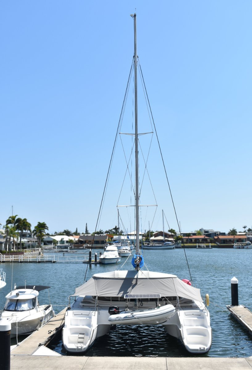 Fountaine Pajot Belize 43 - very tidy and ready to go cruising!